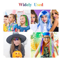 Girls Party Cosplay Halloween Hair Color