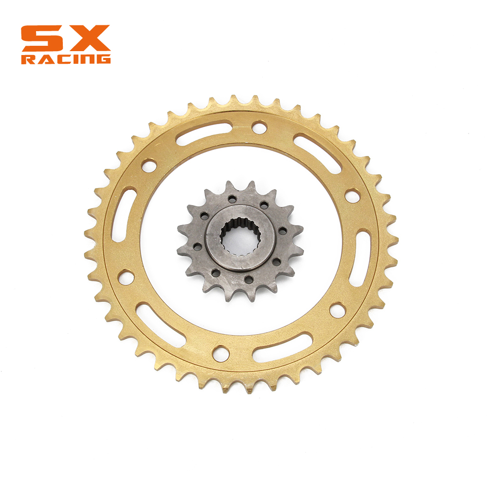 Motorcycle Front & Rear Sprocket Kit 17T 17 42 42T 525 For BMW F650GS F650 GS 2008-2012 F800GS F800 GS 2008-2017 motorcycle 530 17t 43t front