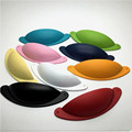 76mm modern fashion colourful shell furniture handle white black blue red drawer cabinet pullsknob pink yellow purple cup handle