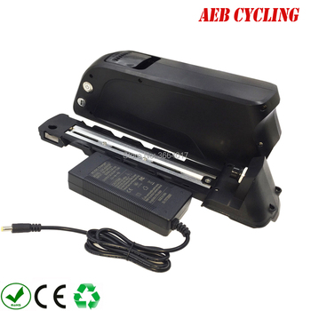 Free Shipping Rechargeable 24V 36V 48V 52V down tube Electric bike battery 10Ah 20Ah 11.6Ah 12.8Ah 13.2Ah 14Ah 15Ah 16Ah 28Ah image