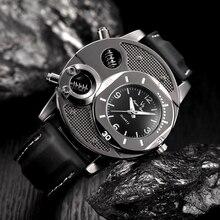 Luxury/Military Thin Silicone Strap Quartz Watch