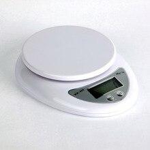 5000 г/1 г 5кг кухонные весы Кухонные цифровые весы для еды весы баланс веса взвешивание светодиодные электронные кухонный гаджет
