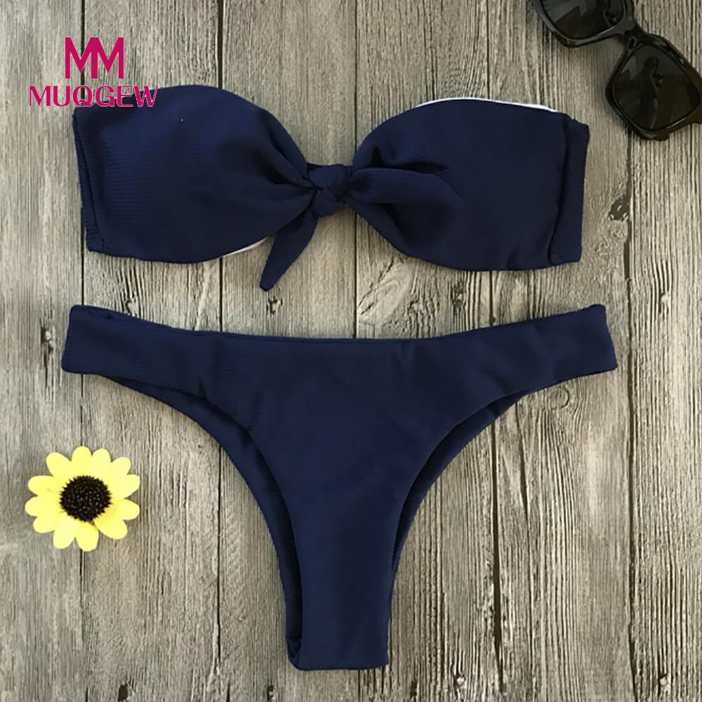MUQGEW 2018 New Push Up Solid Sexy Bikini Set Thong Women Swimwear Swimsuit Bathing Suit Beach Wear Brazilian Bikinis Female эко у история средневековья энциклопедия под редакцией умберто эко isbn 9785373072151