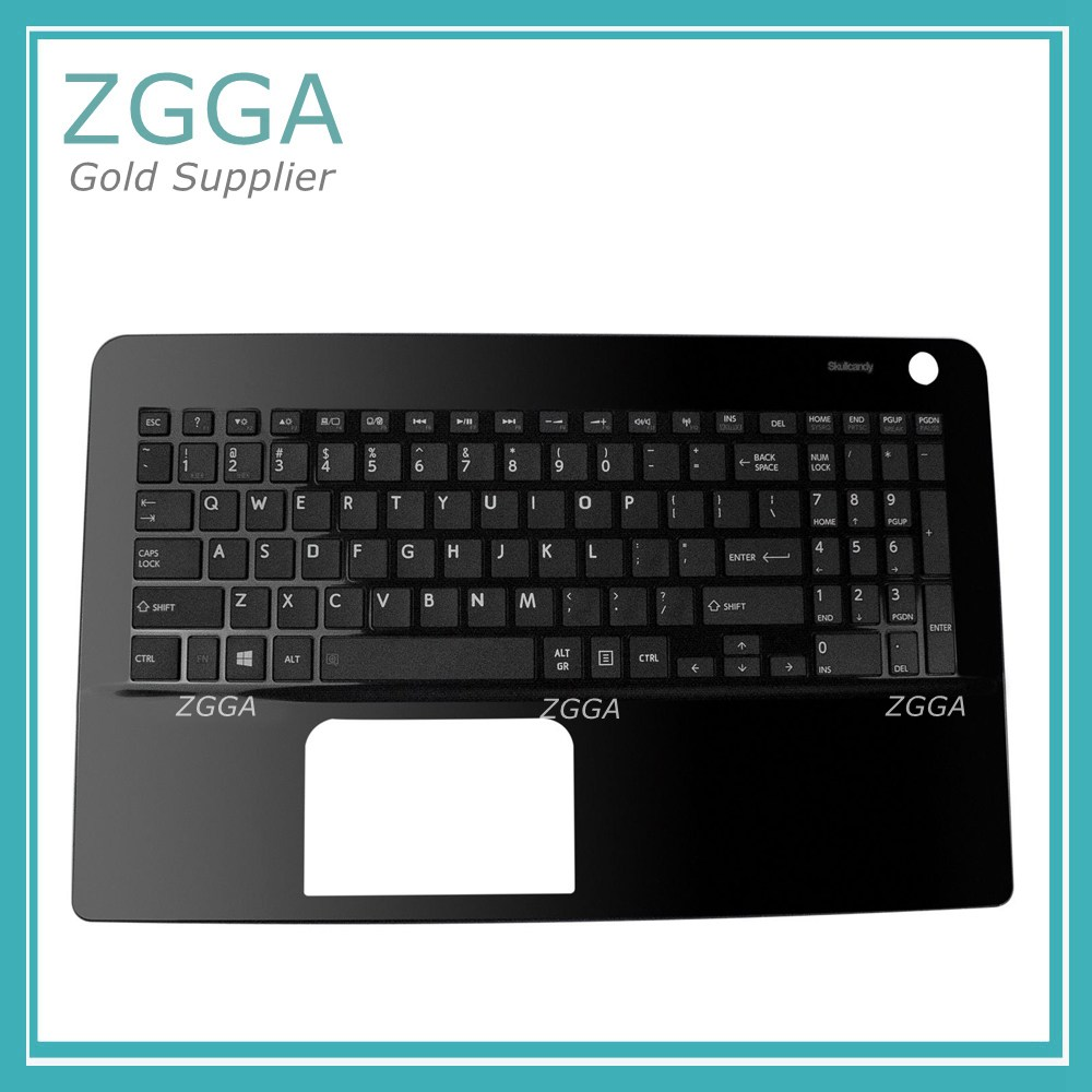 New Palmrest Genuine For Toshiba Satellite L50-B L50D-B L50T-B Upper Case With US Keyboard Laptop Replacement Shell EABLI00410 new russian for hp envy x2 11 g000 g003tu tpn p104 hstnn ib4c c shell ru laptop keyboard with a bottom shell