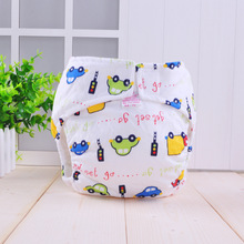 Baby Diaper Washable Reusable Nappies Training Pant Cloth Diaper Free Size Diapers For Children Newborn Diapers