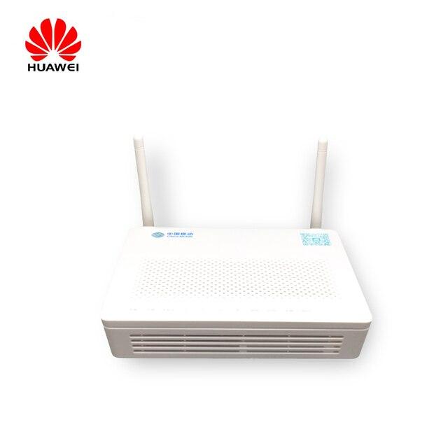 מקורי חדש FTTH סיבים אופטיים ציוד Huawei HS8545M GPON ONU WiFi GPON ONU מודם עם 1GE + 3FE + Wifi + USB + קול אנגלית Vershion