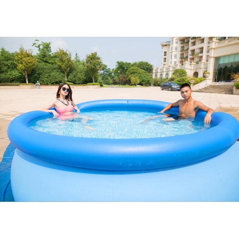 244 cm 76 cm INTEX bleu AGP piscine hors sol piscine familiale piscine gonflable pour adultes enfants enfant aqua eau d'été B33006
