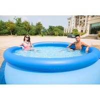 244cm 76cm INTEX blue AGP above ground swimming pool family pool inflatable pool for adults kids child aqua summer water B33006