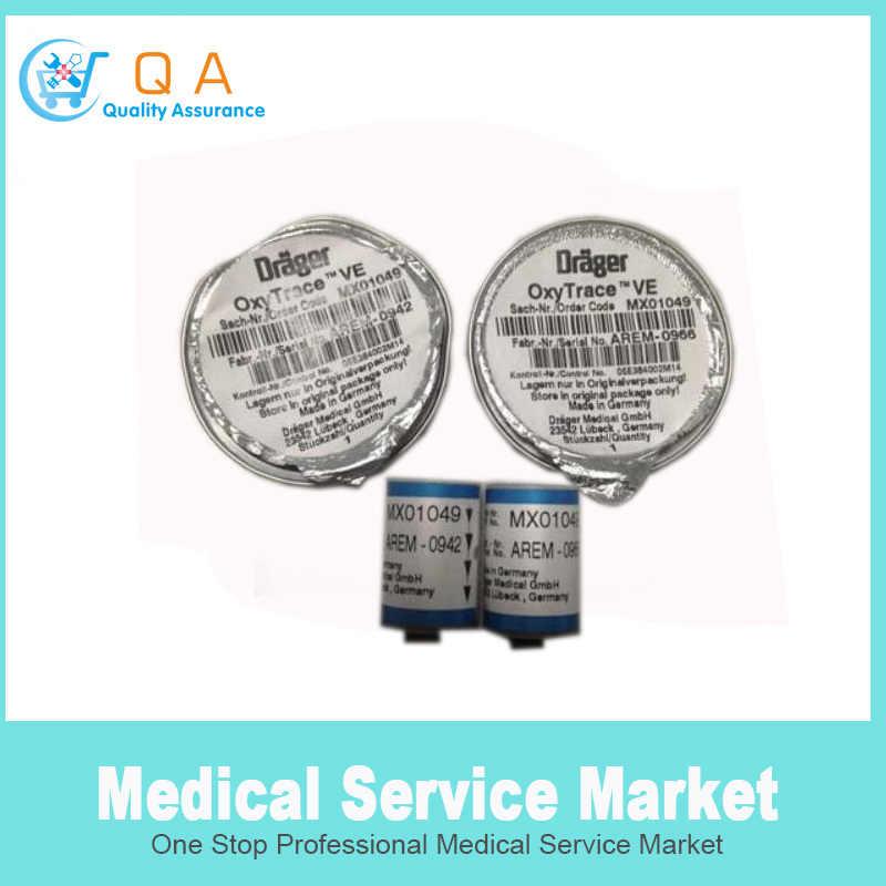 O2 Sensor Oxytrace VE untuk Drager Savina Ventilator MX01049 Sensor Oksigen