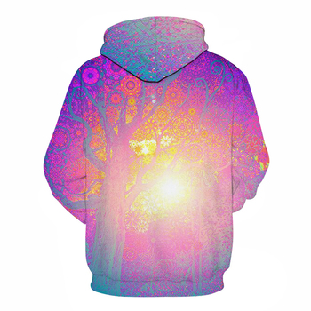 3d Hooded sweatshirt Colorful triangle combination print Men/Women Space Galaxy pull lover Hoodies Sweatshirts hoodie sweatshirt 1