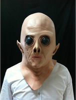UFO Parrucca Sci-fi movie theme maschera cosplay orrore fantasma maschera alien faccia parrucca intera tricky
