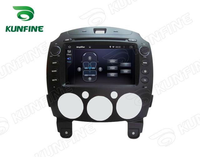Quad Core 1024*600 Android 5.1 Del Coche DVD GPS Jugador de la Navegación Estéreo del coche para Mazda 2 2010-2012 GPS Radio 3G Wifi Bluetooth
