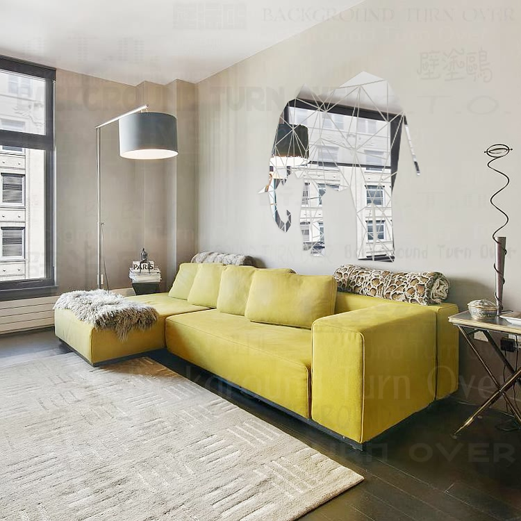 Europäischen stil eisen wand dekoriert wand dekoriert dreidimensionale wand ornamente kreative hause wohnzimmer dekoration - 2