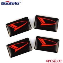 Doofoto логотип для автомобильного стайлинга наклейка подходит для Daihatsu Terios Sirion Yrv Materia Rocky Cuore авто эмблема значок наклейка аксессуары Mira