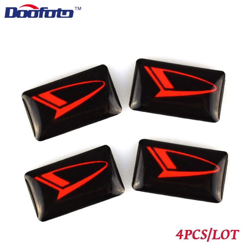 Doofoto Car Styling Logo Sticker Fit For Daihatsu Terios Sirion Yrv Materia Rocky Cuore Auto Emblem Badge Decal Accessories Mira