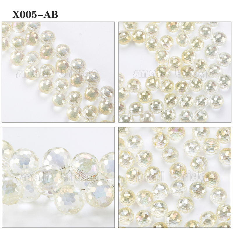 Large Crystal Beads (6)