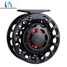 Maximumcatch VX 7/9wt 100% Sealed Waterproof Fy Fishing Reel CNC Machined Aluminum Black Color Fly Reel and Spool цена