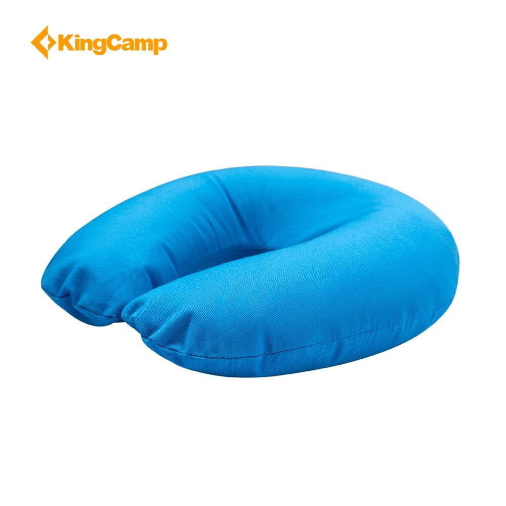 KingCamp almohada U cuello en forma para viajes cómodos algodón multifunción plegable colorido cojines auto-conducción al aire libre