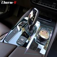 Self healing Interior Trim Protection Film Gear Shift Panel Dashboard Sticker for BMW F10 F11 F07 Z4 E89 F25 F26 G30 F15 F16 F30