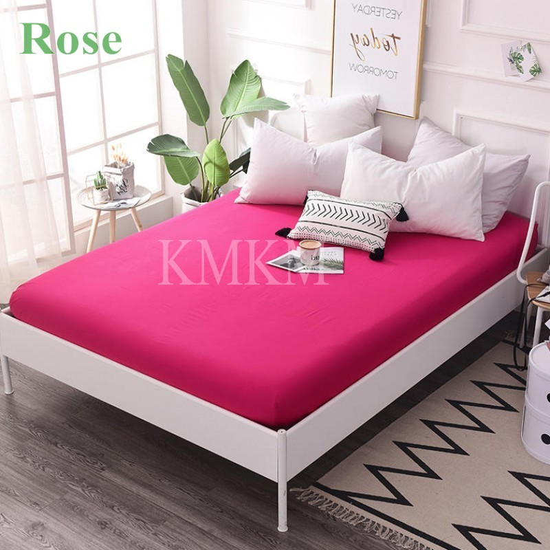 rose bed sheet