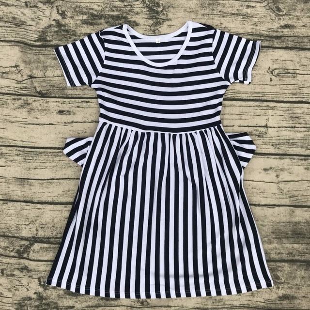 d7bd3ad05759 children round neck xxx bf photo dress with pocket wholesale summer ...