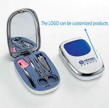 300Pcs Professional Manicure Set Nail Clippers Scissors Cleaning Tool Kit Set.Enterprise custom LOGO printing, souvenirs.