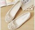 2017 Женщины Мокасины Леди Балерина Плоские Туфли Женщина Летние Квартиры Выдалбливают Удобные Мягкие плоские сладкие обувь одного
