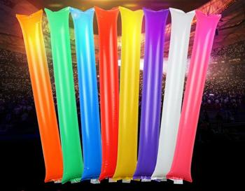500pcs/lot LED glow inflatable Cheering sticks for Concert /Football Fans party supplies - Free Ship