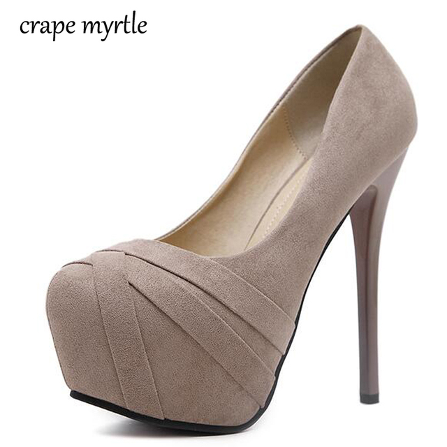 6870f50aa Salto alto sapatos de plataforma mulher bombas sapatos de noiva bege bombas  vestido sapato feminino sapatos