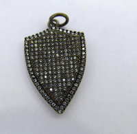 12 sztuk 18-50mm cz micro pave diament cyrkonia teadrop spadek kolczyki uzdrowienie ręcznie sharp kolce strzałka charms wisiorki