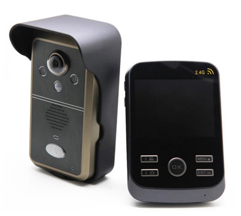 Citofono Wireless Lunga Portata.Us 165 44 12 Di Sconto 2 4 Ghz 3 5 Pollici A Lunga Distanza Citofono Senza Fili Videocitofono In Videocitofono Da Sicurezza E Protezione Su