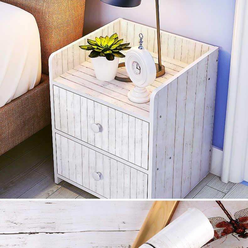 1 M/5 M/10 M impermeable vinilo grano de madera papel pintado autoadhesivo armario de cocina armario muebles de renovación puerta de la pared pegatinas
