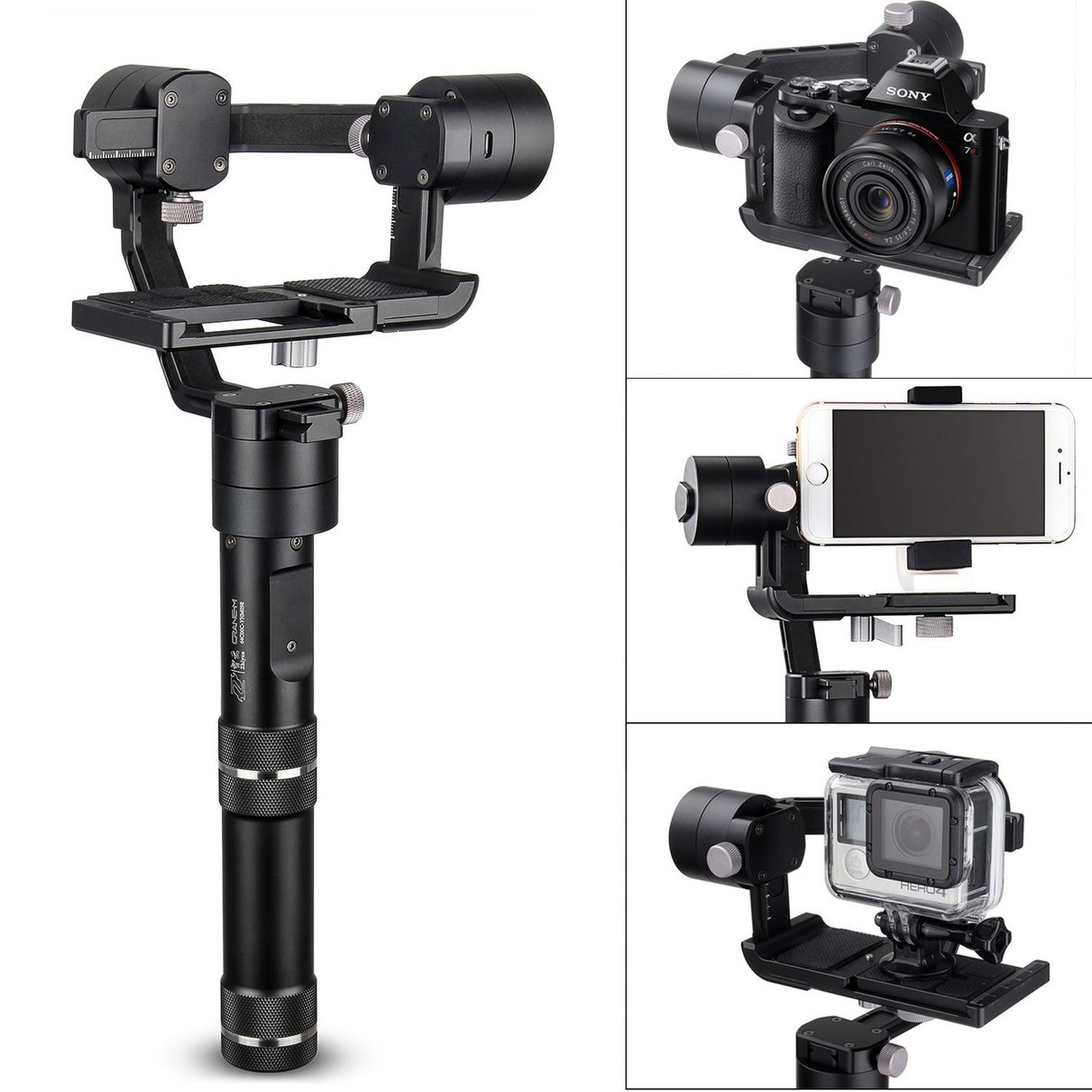 Zhiyun Crane M 3-Axis Stabilizer Gimbal for Sony ILCE Series a6300 a5100 a6000 new version smallrig cage for sony a6300 a6000 a6500 ilce 6000 ilce 6300 ilce a6500 sony nex 7 cage 1661