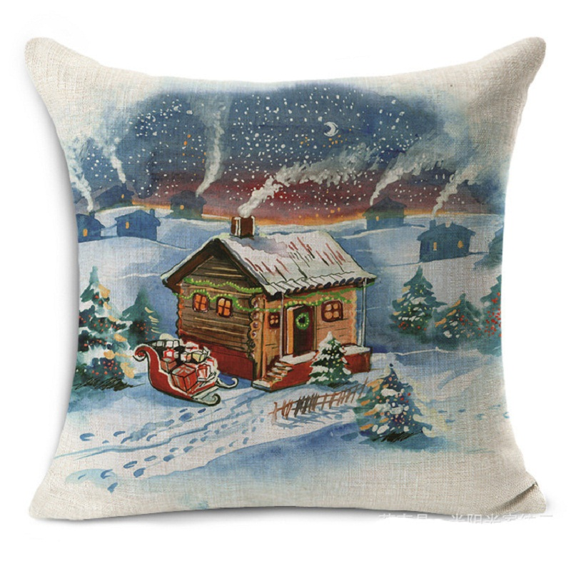 Home Decor Sale: New Hot Sale Chirstmas Linen Home Decor Sofa Office Pillow