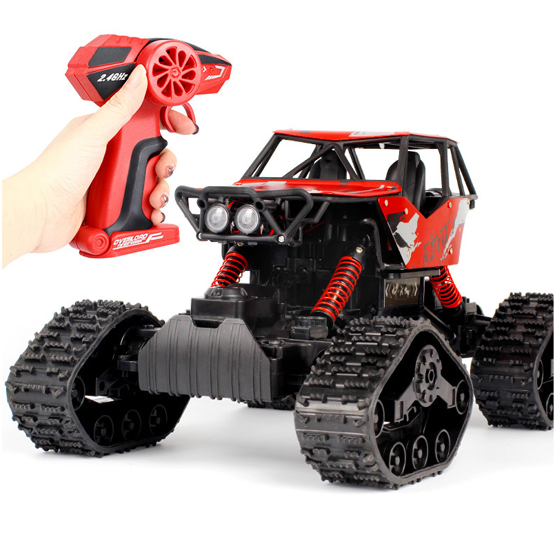 1:12 Rc Car 4WD 2.4GHz High Speed Racing Snowmobile Remote Control Electrical Simulational Car Model Off-Road Vehicle Boys Toy