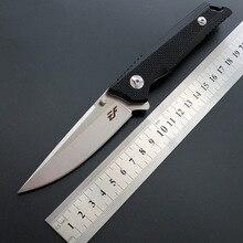 Складной нож для ежедневного использования, D2 лезвие шариковый подшипник+ G10 ручка на открытом воздухе Выживание Охота Отдых на природе Фруктовый нож, инструмент для повседневного использования тактический карманный нож