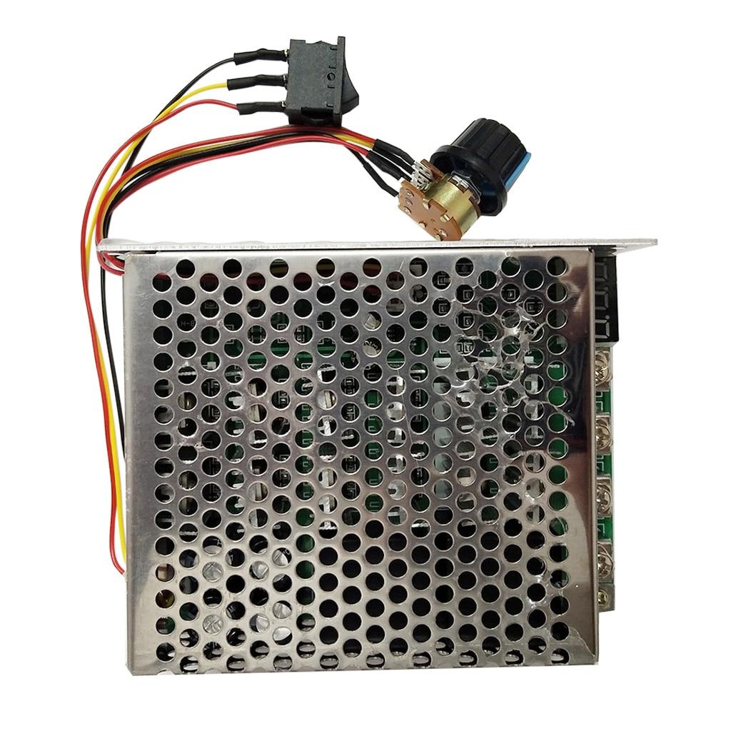 12-60V DC Motor Speed Controller Reversible PWM Control Reverse Switch 60A jtron speed reversible control simple stepper motor controller pwm generator controller green