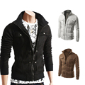 Jacket Men 2016 Fashion Brand Male Jackets Assassin'S Creed High Quality Men'S Slim Jacket Sweater Multi-Button Windbreaker Z10