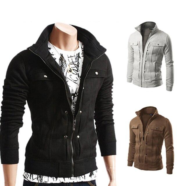 Los Hombres de la chaqueta 2016 de La Marca de Moda Chaquetas Masculinas  Assassin S Creed Hombres a4fda5d2483