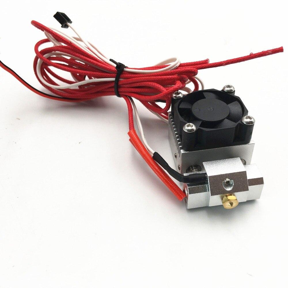 Funssor tout métal Cyclops Plus hotend kit avec NTK 100 capteur de thermistance 2 entrée 1 extrudeuse de tête d'extrusion expédition rapide