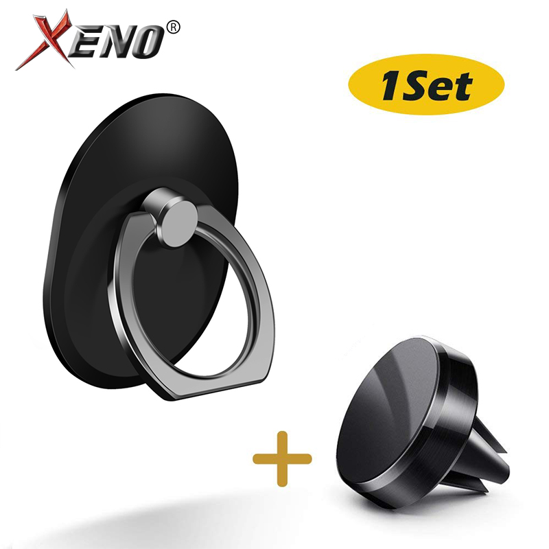 Mini Air Vent Mount For Car Phone Holder Magnetic Magnet Car Holder Support Mobile Phone For Iphone Mobile Ring Phone Grip Set