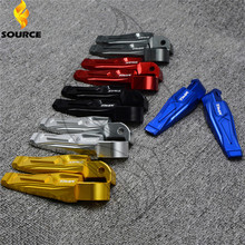 Мотоцикл подножка подножки алюминий чпу задний пассажирские подножки Для yamaha tmax 500 tmax 530 t-max500 т-max530 т макс 500 530