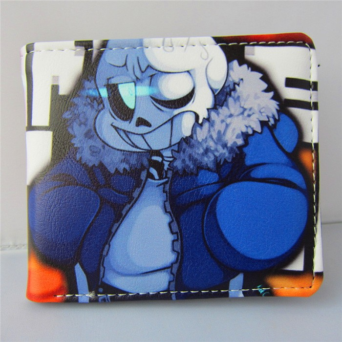 Anime Game UNDERTALE Call of Duty King of Glory SKYRIM Wallet Purse toys Undertale PU Short Wallet toy gifts