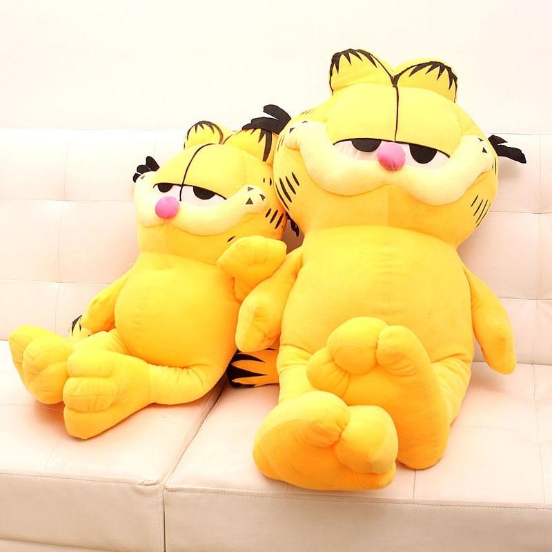 60cm yellow Stuffed plush dolls Cartoon Cat Doll Plush font b Toys b font kawaii Cartoon