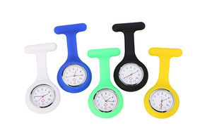 Super practical nurse family pocket watch convenient to use a variety of colors on the quartz surface can choose