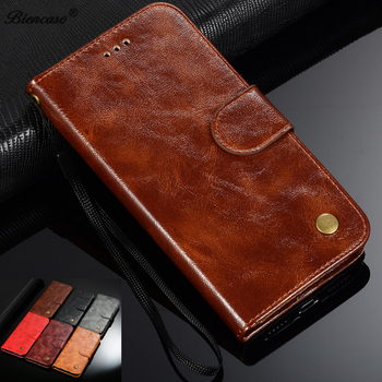 Retro Leather Wallet Case For Asus Zenfone ZE601KL ZB551KL ZB553KL ZC520KL ZE554KL ZE500KL ZS620KL ZE620KL ZC600KL Phone Cover image