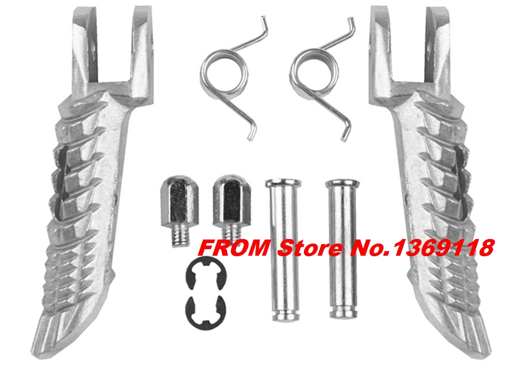 Motorcycle Left Right Front Footrest Foot Pegs For Suzuki