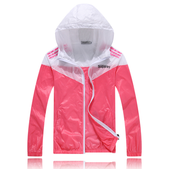 Colorful Sweethearts Outdoors Travel UV Coat Spring and Summer Thin Sun Protective Clothing Unisex Women Men 5 Colors 2
