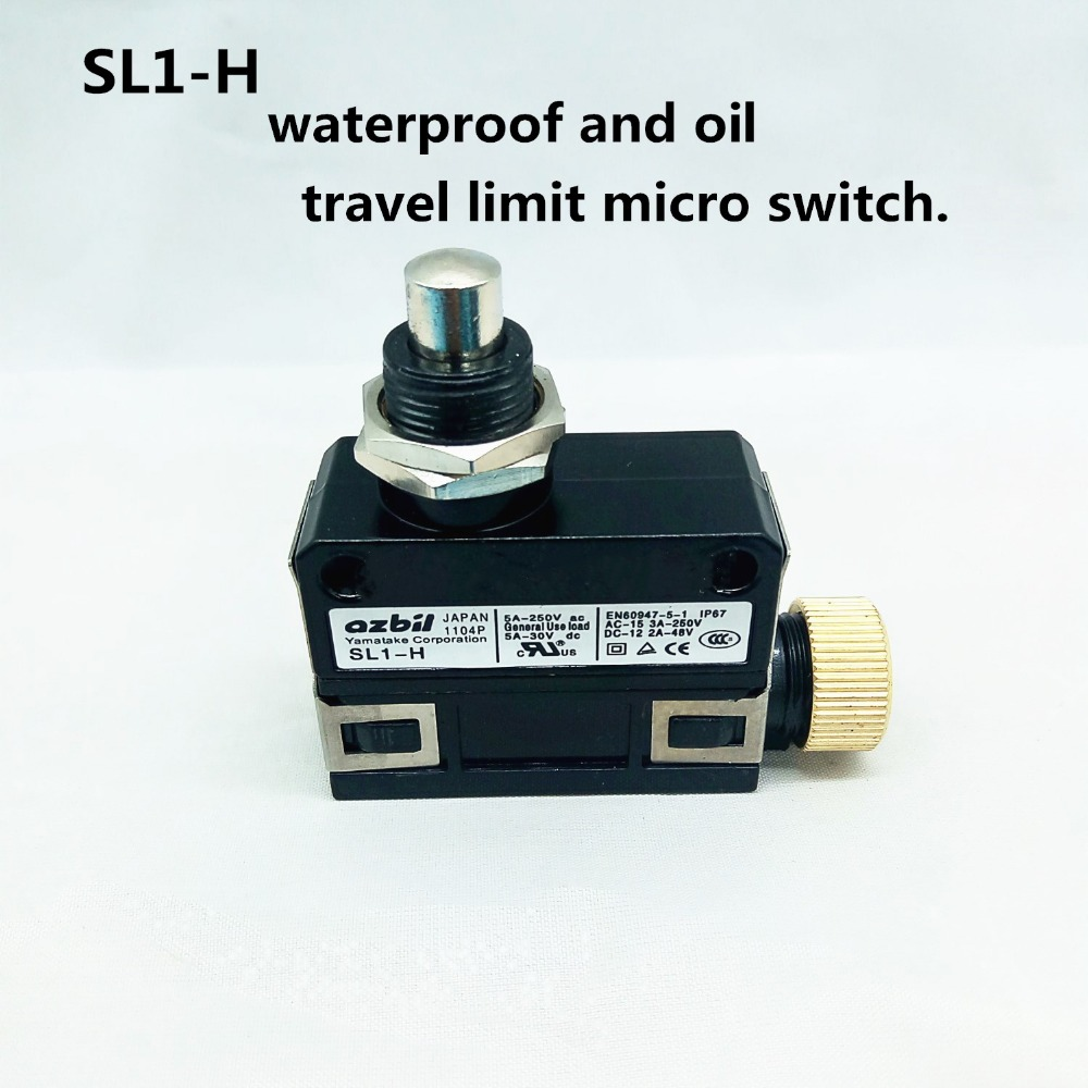 NEW azbil SL1-H SL1H YAMATAKE Waterproof and oil Limit switch Travel switch Micro switch safety door switch limit switch micro switch cz 93b 2nc