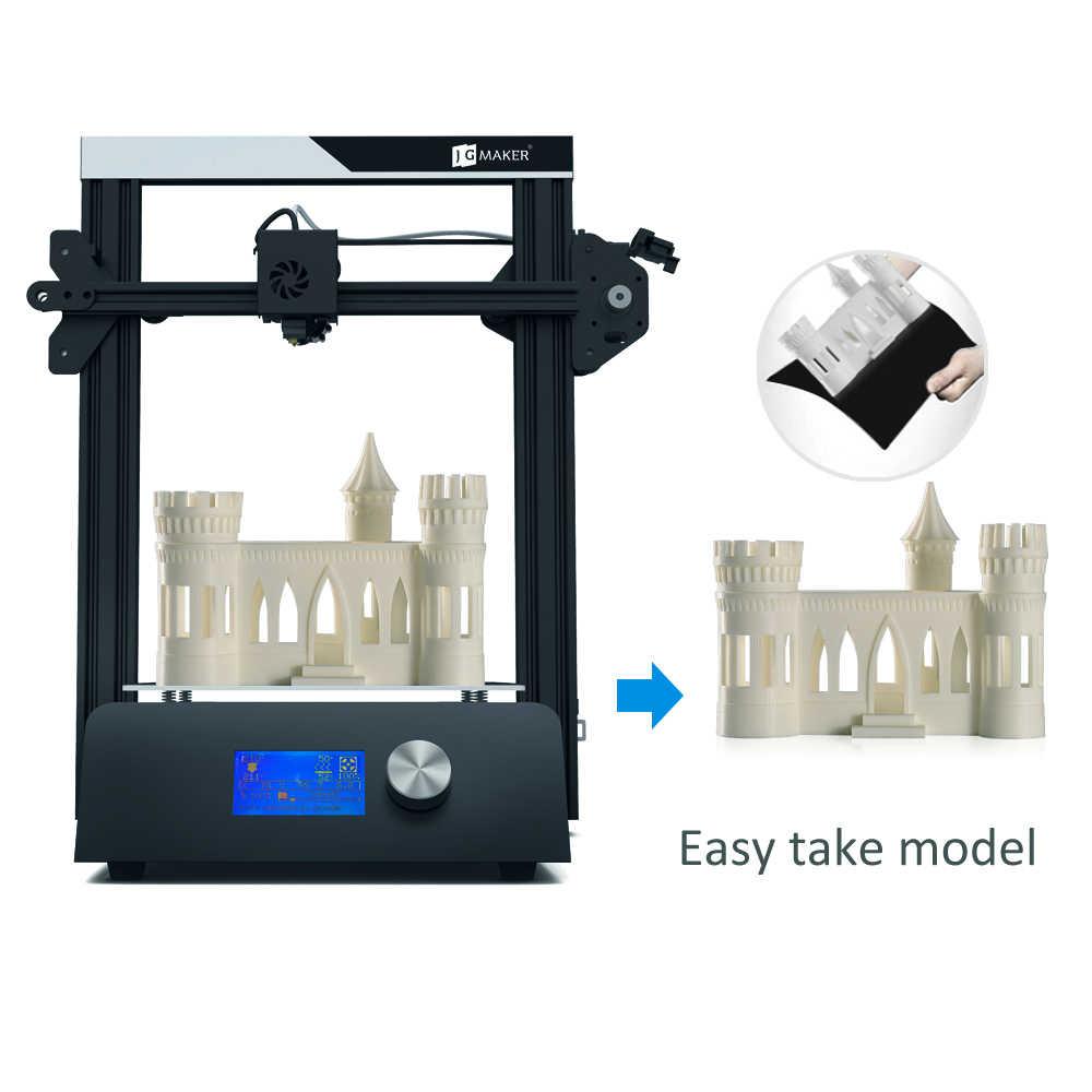 JGAURORA Magic i3 3d принтер алюминиевая рама Высокая точность большой размер сборки 220X220X250 impresora 3D с бесплатными подарками 8G карта